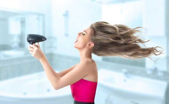 Haare Richtig Föhnen Glatt Für Volumen Oder Lockig